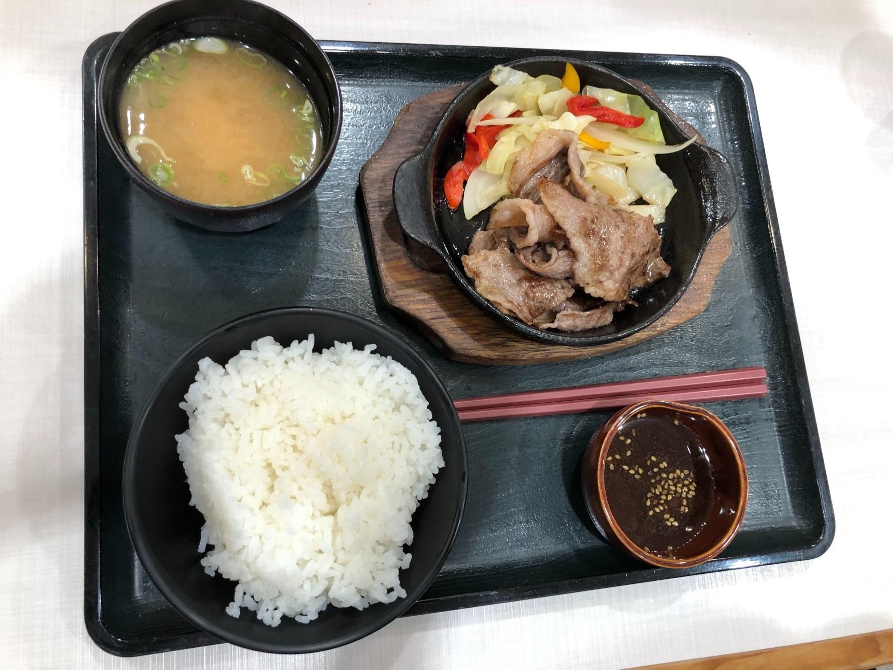 松阪牛焼肉定食!!