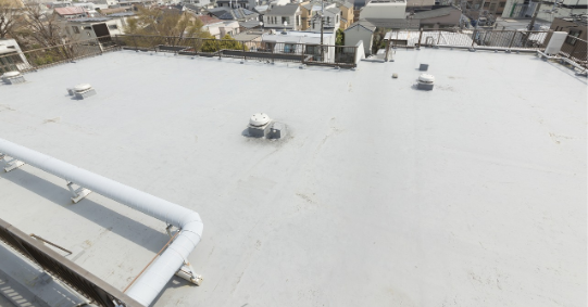 修繕工事のひとつ!屋上防水について
